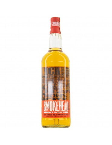 SMOKEHEAD Rock Edition II, Single Malt, Scotia, 1L, 46.6% ABV