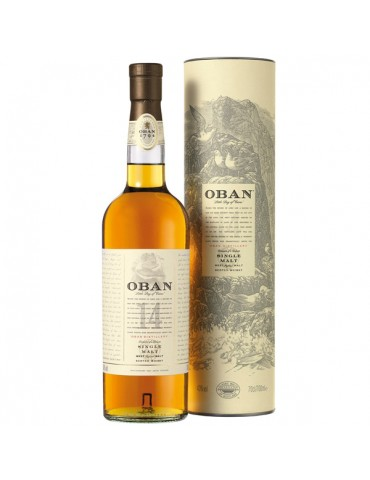 OBAN 14YO, Single Malt, Scotia, 0.7L, 43% ABV