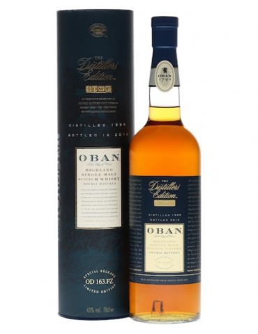 OBAN Distiller`s Edition, Single Malt, Scotia, 0.7L, 43% ABV
