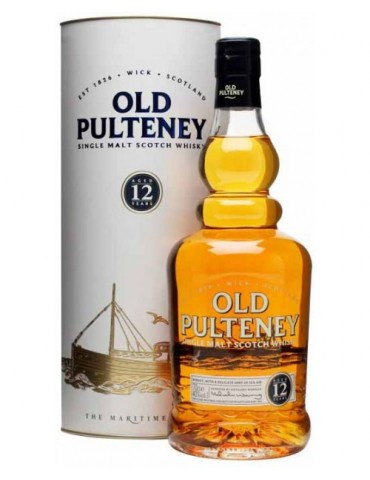 OLD PULTENEY 12YO, Single Malt, Scotia, 0.7L, 40% ABV