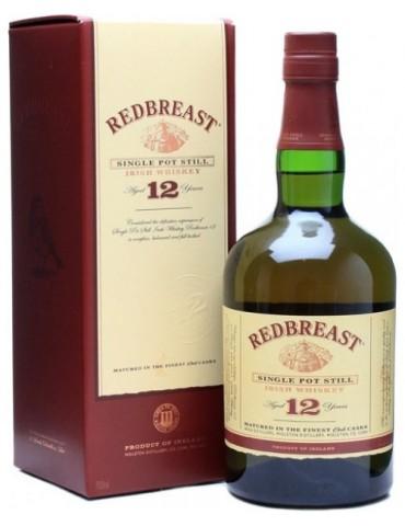REDBREAST 12YO, Irish Whisky, Irlanda, 0.7L, 40% ABV