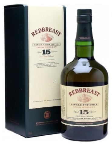 REDBREAST 15YO, Irish Whisky, Irlanda, 0.7L, 46% ABV