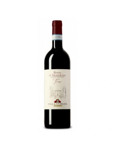 VILLA LE PRATA Rosso di Montalcino DOC 2018, Italia, Rosu, Sec, 0.75L, 14% ABV