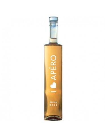 I LOVE APERO Portocale, Franta, Rose, Demidulce, 0.5L, 14% ABV
