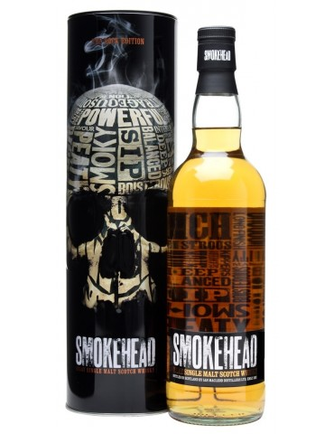 SMOKEHEAD Rock Edition, Single Malt, Scotia, 1L, 44.2% ABV