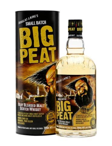 DOUGLAS LAING BIG PEAT Whisky, Blended Malt, Scotia, 0.7L, 46% ABV, Gift Box