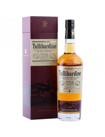TULLIBARDINE 228 Burgundy, Single Malt, Scotia, 0.7L, 43% ABV