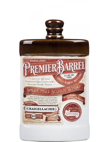 DOUGLAS LAING Premier Barrel Craigellachie 10YO, Single Malt, Scotia, 0.7L, 46% ABV