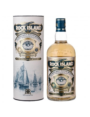 DOUGLAS LAING Rock Island, Blended Malt, Scotia, 0.7L, 46.8% ABV, Gift Box