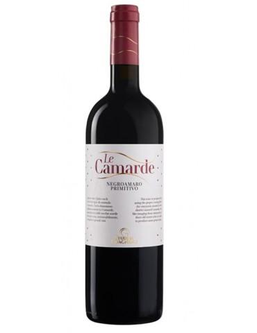 Feudi di Guagnano Le Camarde Negroamaro & Primitivo, Italia, Rosu, Sec, 0.75L, 13.5% ABV