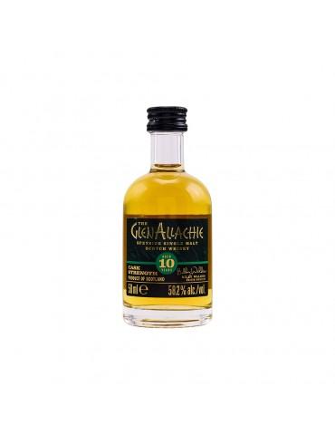 GlenAllachie 10YO Mini, Single Malt, Scotia, 0.05L, 58.2% ABV