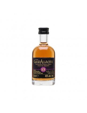 GlenAllachie 12YO Mini, Single Malt, Scotia, 0.05L, 46% ABV