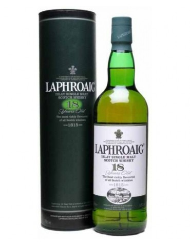 LAPHROAIG 18YO, Single Malt, Scotia, 0.7L, 48% ABV