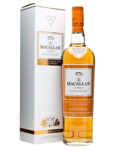 MACALLAN Amber, Single Malt, Scotia, 0.7L, 40% ABV