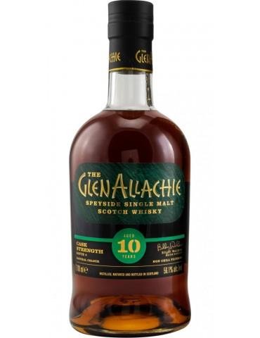GlenAllachie 10YO Cask Batch 4, Single Malt, Scotia, 0.7L, 56.1% ABV