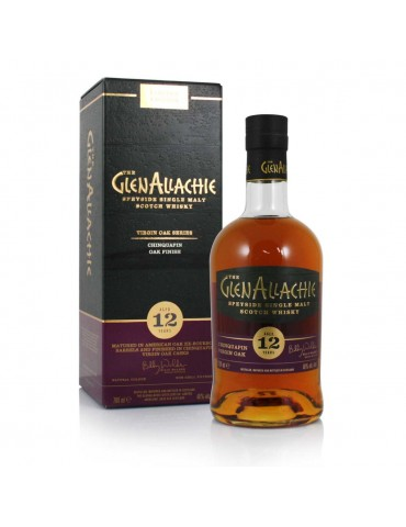 GlenAllachie 12YO Chinquapin Wood, Single Malt, Scotia, 0.7L, 48% ABV
