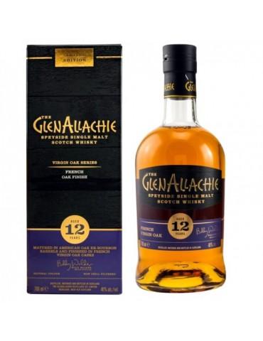 GlenAllachie 12YO French Oak, Single Malt, Scotia, 0.7L, 48% ABV