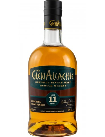 GlenAllachie 11YO Moscatel Wood, Single Malt, Scotia, 0.7L, 48% ABV