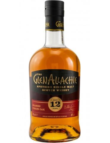 GlenAllachie 12YO Spanish Oak, Single Malt, Scotia, 0.7L, 48% ABV