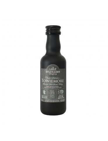 The Lost Distillery Towiemore, Blended Malt, Scotia, 0.05L, 43% ABV