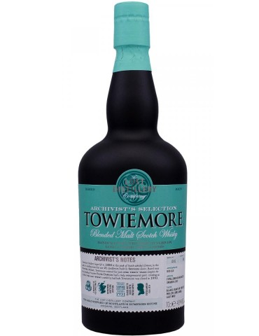 The Lost Distillery Towiemore Archivist's Selection, Blended Malt, Scotia, 0.7L, 46% ABV