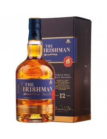 WALSH The Irishman 12 ANI, Single Malt, Irlanda, 0.7L, 43% ABV
