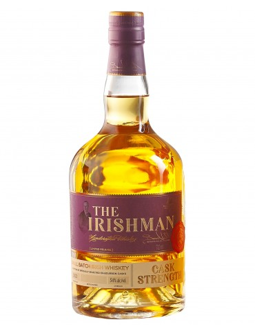 WALSH The Irishman Cask Strength, Blended Whisky, Irlanda, 0.7L, 55.2% ABV