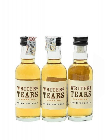 WALSH Writers Tears Book Gift Pack, Blended Whisky, Irlanda, 3 x 0.05L, 40% ABV
