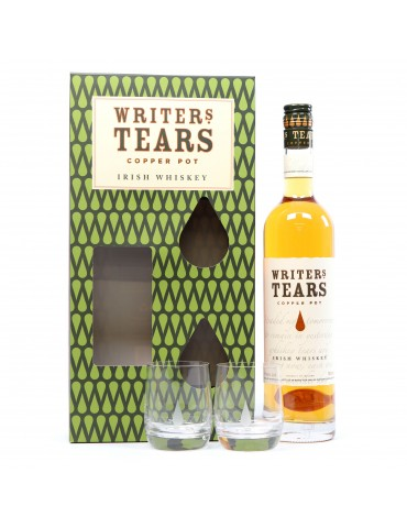 WALSH Tears Copper Pot, Irish Whisky, Irlanda, 0.7L, 40% ABV, 2 Pahare