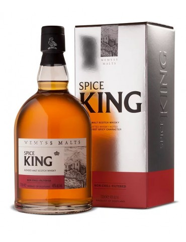 WEMYSS Spice King, Blended Malt, Scotia, 0.7L, 46% ABV