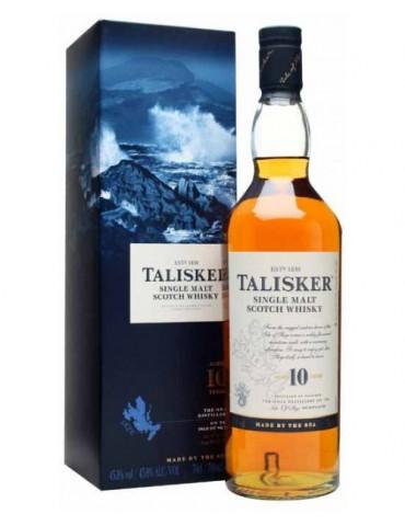 TALISKER 10YO, Single Malt, Scotia, 0.7L, 45.8% ABV