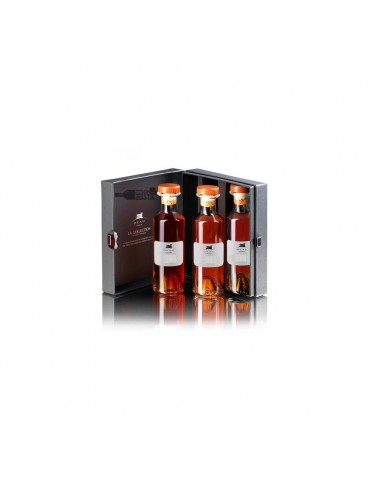 DEAU Cognac KIT, VS/VSOP/XO, Blended, 3x 0.2L, 40% ABV