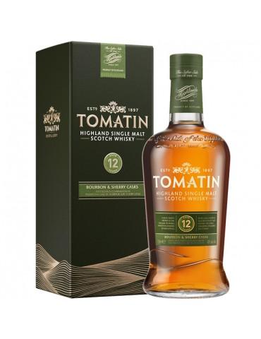 TOMATIN 12YO, Single Malt, Scotia, 0.7L, 43% ABV