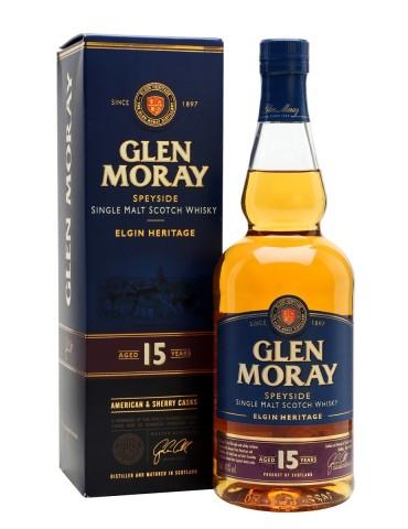 GLEN MORAY 15YO, Single Malt, Scotia, 0.7L, 40% ABV