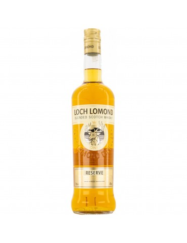LOCH LOMOND Reserve, Blended, Scotia, 0.7L, 40% ABV