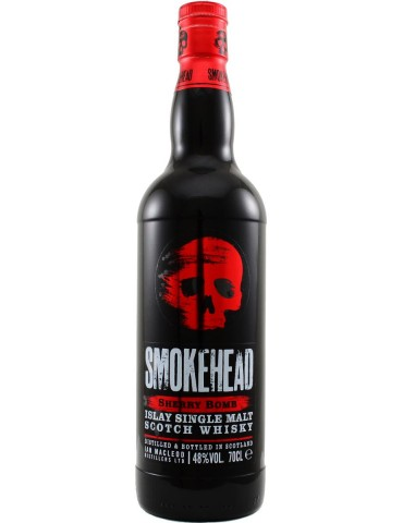 SMOKEHEAD Sherry Bomb, Single Malt, Scotia, 0.7L, 48% ABV