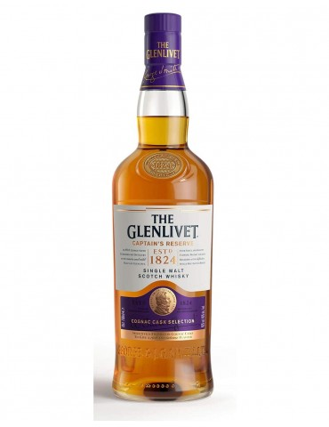 GLENLIVET The Captain's Reserve, Single Malt, Scotia, 0.7L, 40% ABV