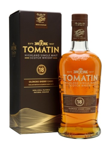 TOMATIN 18YO, Single Malt, Scotia, 0.7L, 46% ABV