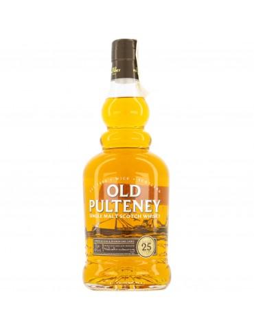 OLD PULTENEY 25YO, Single Malt, Scotia, 0.7L, 46% ABV