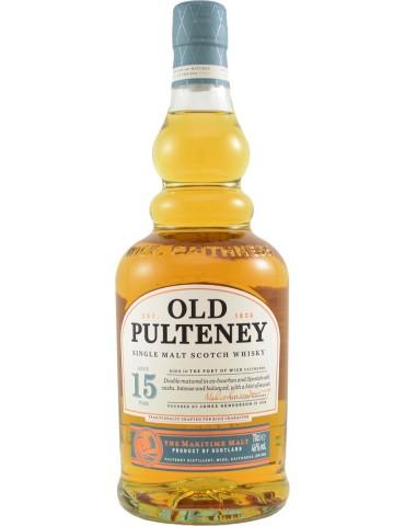 OLD PULTENEY 15YO, Single Malt, Scotia, 0.7L, 46% ABV