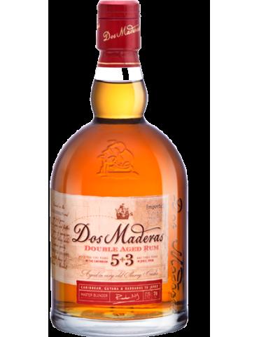 DOS MADERAS Anejo 5YO+3YO, Spania, 0.7L, 37.5% ABV
