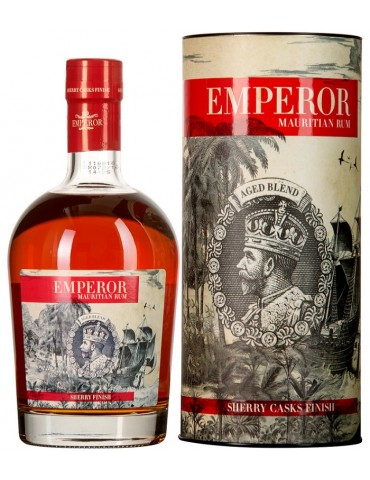 EMPEROR Sherry Cask Finish, Mauritius, 0.7L, 40% ABV