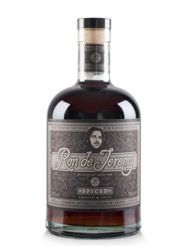 RON DE JEREMY Spiced, Panama, 0.7L, 38% ABV