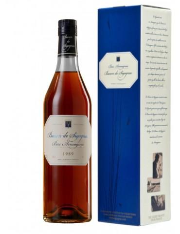BARON DE SIGOGNAC 1989 Gift Box, 0.7L, 40% ABV