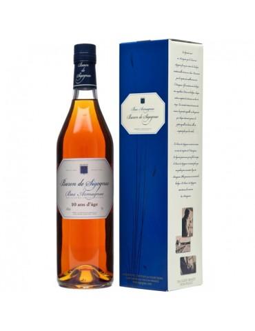 BARON DE SIGOGNAC DE 10 ANI Gift Box, 0.7L, 40% ABV