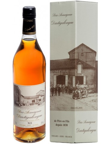 DARTIGALONGUE Armagnac, XO, 0.7L, 40% ABV