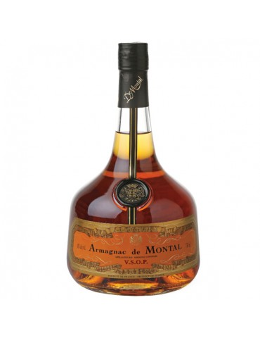 DE MONTAL Armagnac, VSOP, 0.7L, 40% ABV