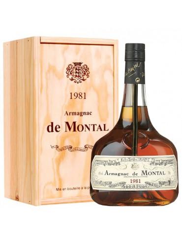 DE MONTAL 1981, Vintage, 0.7L, 40% ABV