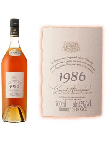 JANNEAU 1986, 0.7L, 43% ABV