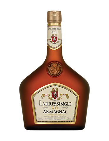 LARRESSINGLE Armagnac, XO, 0.7L, 40% ABV